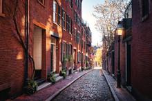 Acorn Street - Boston, Massach...