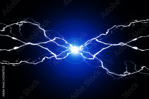 Valokuva  Green Energy Electricy Plasma Power Crackling Fusion