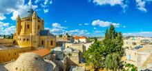 Franciscan Monastery Of Dormition In Jerusalem, Israel