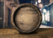 Background Of Barrel And Worn ...