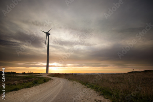 Fotografie, Obraz  windpower