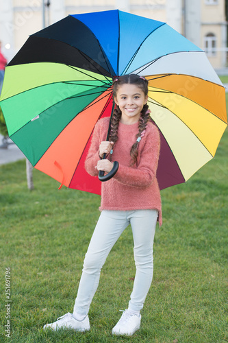 Let smile be your umbrella Canvas Print