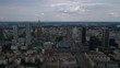 Aerial Poland Warsaw June 2018 Sunny Day 30mm 4K Inspire 2 Prores Aerial video of downtown Warsaw in Poland on beautiful sunny day.