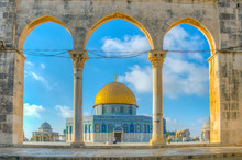 Famous Dome Of The Rock Situat...