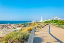 Seaside Promenade At Independence Park At Tel Aviv, Israel