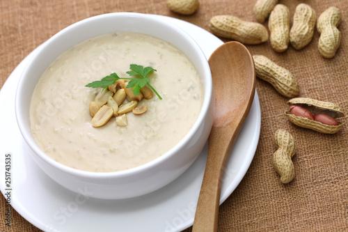 Fotografie, Obraz  southern peanut soup