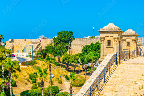 Photo Old fortification of Acre/Akko in Israel