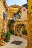 Fototapeta Uliczki - View of a narrow street in the center of Nazareth, Israel