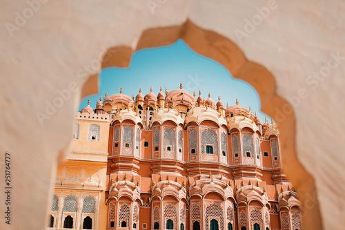 Valokuva  Inside of the Hawa Mahal or The palace of winds at Jaipur India