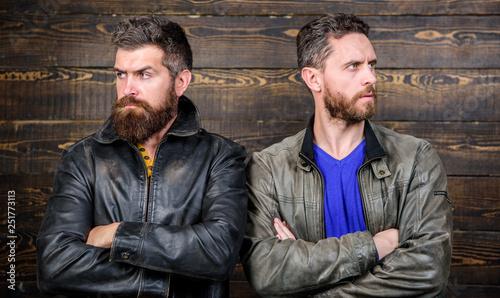 Men brutal bearded hipster Canvas-taulu