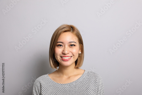 Fotografie, Obraz  South east Asian Man woman facial expression