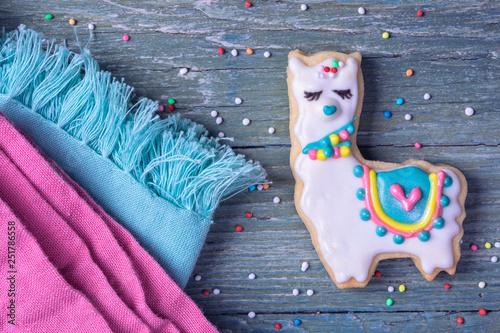 Llama cookie