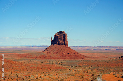 Poster Brick Monument Valley