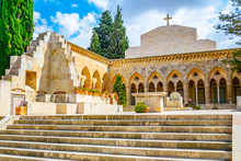 Church Of Pater Noster In Jerusalem, Israel