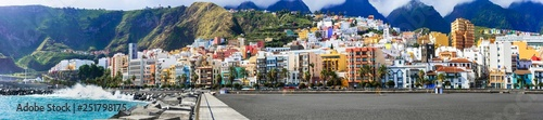 Canvas Prints Canary Islands Santa Cruz de La Pama - capital of La Palma, Canary islands of Spain