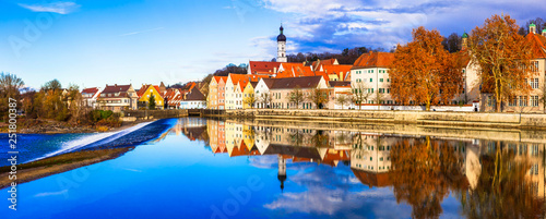 Best places in Bavaria - Landsberg am Lech - beautiful old traditional town in Germany