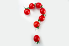 Small Red Cherry Tomatoes As A...