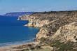 Kourion, Cyprus, Mediterranean sea