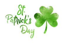 Saint Patrick's Day Green Clover