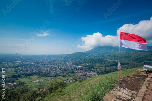 Batu Malang East Java Indonesia Area Of Place Name Omah Kayu Top Hill In Batu With Tree House Building By High Tree And Adventure Traveler Visit Buy This Stock Photo And