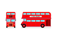 London City Bus Front And Side...