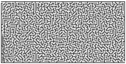 WALL GRAPHIC MAZE - 251840997
