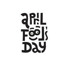 April Fools Day. Hand Drawn Le...