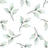 Bezszwowe tło, kwiatowy wzór z akwarela kwiaty piwonie, róże i liście. Powtarzająca się tapeta z tkaniny. Idealnie nadaje się do owiniętego papieru, tła, ramki lub ramki. - 251857373