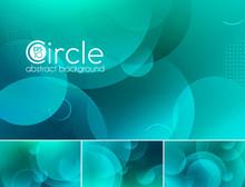 Circle Vector Abstract Backgro...