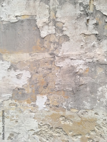 Poster Vieux mur texturé sale Wall texture grunge