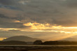 Evening clouds at Mendenhall Wetlands; Juneau, Alaska