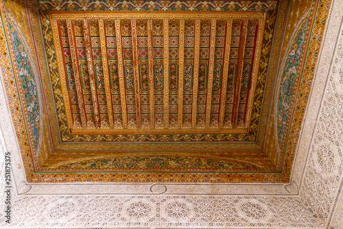 Fotografie, Obraz  Palazzo El Bahia, Marrakech, Marocco