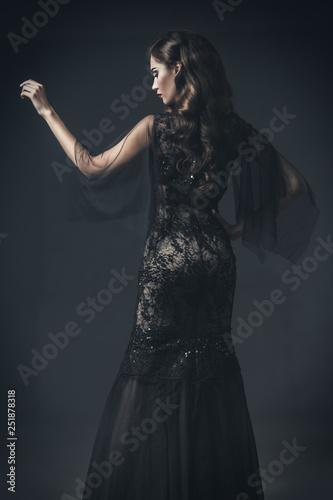 Fotografiet long evening dress