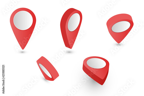 Valokuva  3D Pointer red