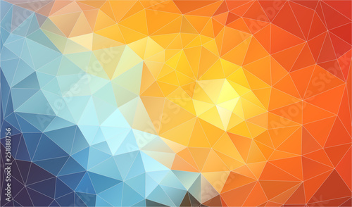 Abstract geometric background. triangle composition. Eps10 vector