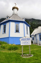 Russian Orthodox Church In Juneau, Alaska