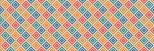 Aztec Like Style Pattern Illus...