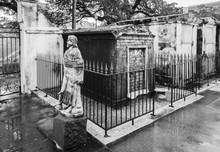 The Saint Louis Cemetery 1, In The French Quarter Of New Orleans, Is The Oldest And Said To Be The Most Haunted, With Above Ground Crypts.