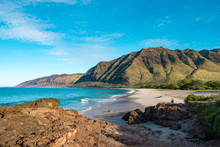 Makua Beach Oahu Hawaii