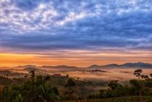 Sun Rise At Phu Tub Berk,Petch...