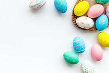Easter Traditions. Colorful Ea...