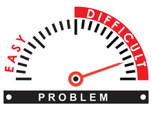 Difficult Problem  - Illustration Template