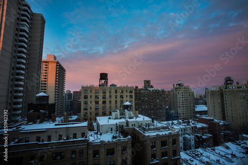 New York City Landscapes in Winter