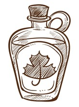 Canadian Maple Syrup In Bottle...