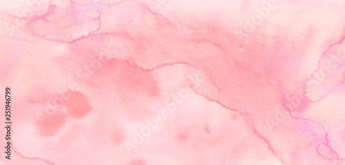 Fotografía  Light grunge magenta color shades watercolor background