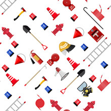 Seamless Firefighting Set Patt...