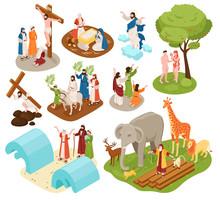 Bible Narratives Isometric Set