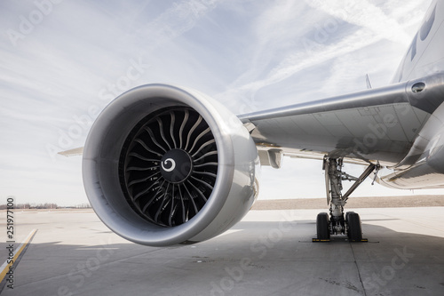Photo Boeing777 Engine