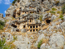 Myra Is An Antique Town In Lycia Where The Small Town Of Kale.Turkey
