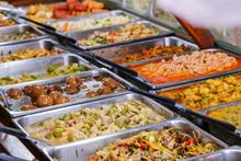 Variety Of Thai Food In Thai S...